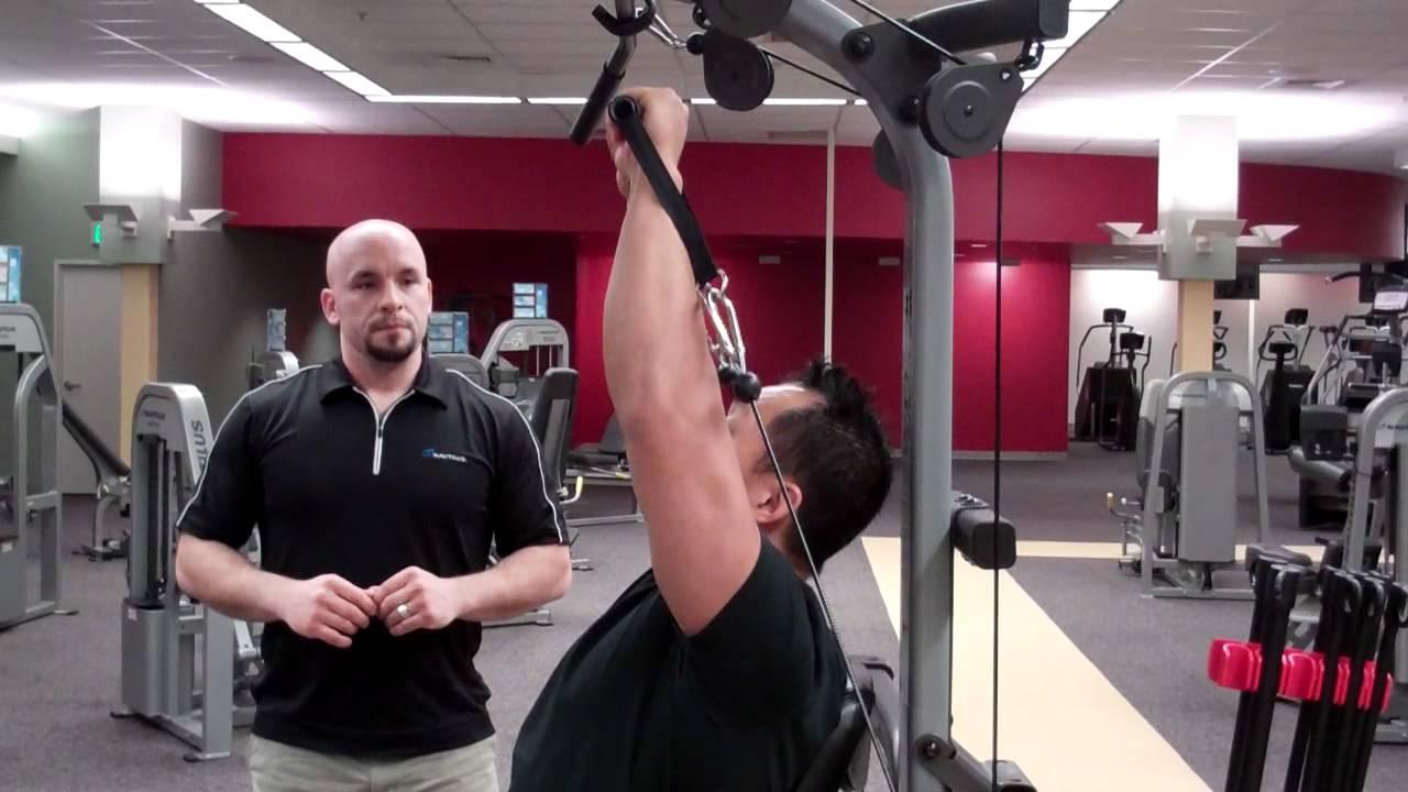 Bowflex Xtreme Home Gym Shoulder Press Technique