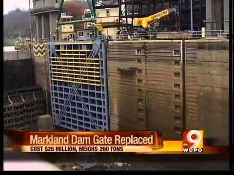 Markland Dam Flooding Markland Dam Gate Replaced