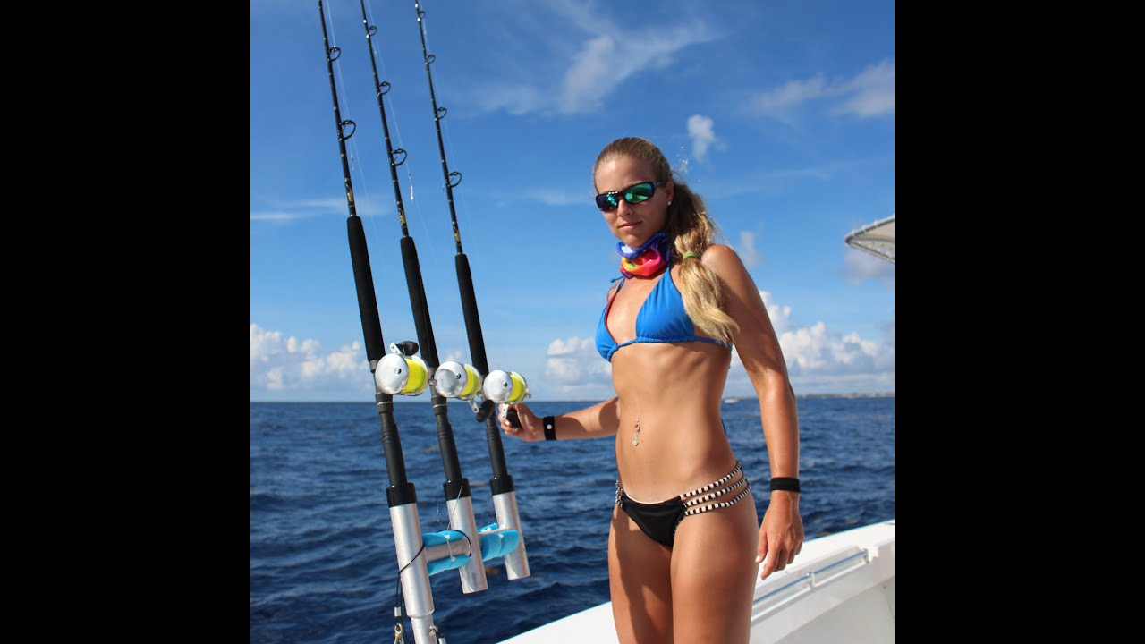 Fishing for Boobs, Mahi & tuna offshore GoPro video - YouTube
