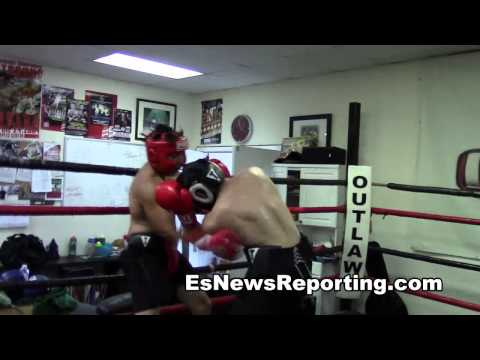 3 min of sparring feels like 10 min EsNews boxing Image 1
