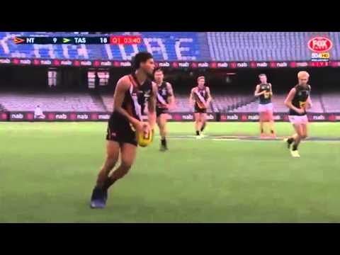 AFL Aboriginal Academy Brandon Parfitt U18s highlights