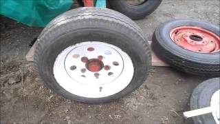 Do 12 Inch Trailer Rims Fit on a Farmall Cub Tractor ?
