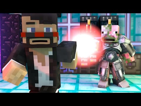 POWER SUIT FAIL (Minecraft Animation)