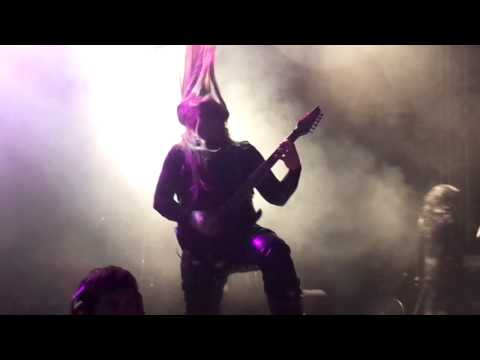 Cradle of Filth Live Mexico 2013 &quot;Lilith Immaculate&quot;