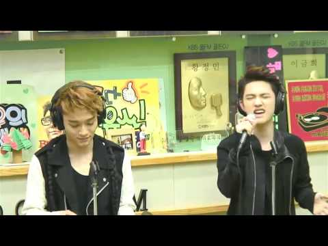 130530 Sukira - The Last Time Live by Chen & Kyungsoo