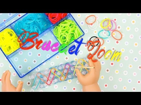 How to Make a Doll Rubberband Bracelet Loom | plus Fun Finds