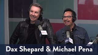 "Dax Shepard and Michael Pena from ""Chips"" 