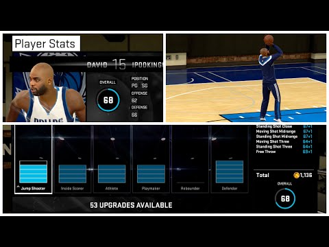 NBA 2K15 MY CAREER PS4 - The Best Jumpshot Ever + Attribute & Signature Styles Update