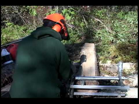 Chainsaw Milling Lumber