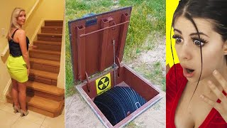 People Finding Hidden Secret Rooms In Their Homes !