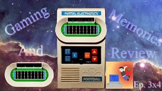 Mattel Electronics Football - Gaming Memories And Review