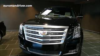 NEW 2019 Cadillac Escalade SUV Walk-Around Review with EuromanDriver Car News