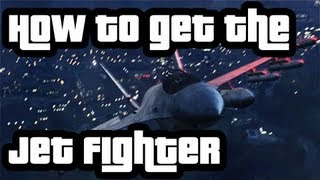 GTA V - Easy way to get the Jet Fighter / Cómo conseguir el caza fácilmente