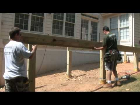 How To Build A Deck Frame - Decks.com