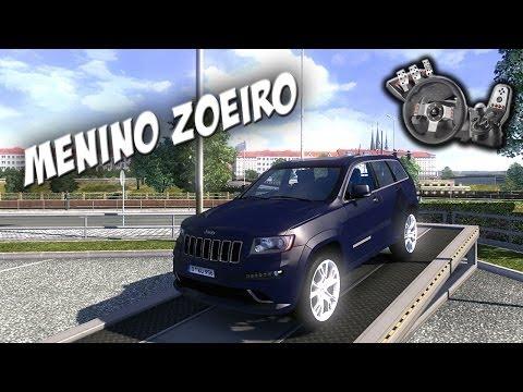 Euro Truck Simulator 2 - Mod Carro Grand Cherokee SRT8 - Com Logitech G27