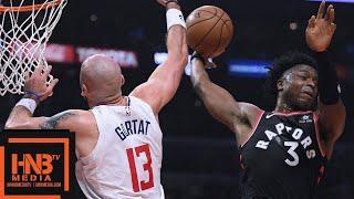 Toronto Raptors vs LA Clippers Full Game Highlights | 12.11.2018, NBA Season