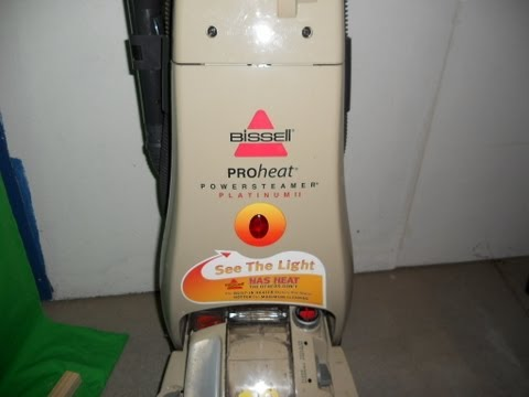 Bissell Carpet Cleaner Won't Spray. How To Repair