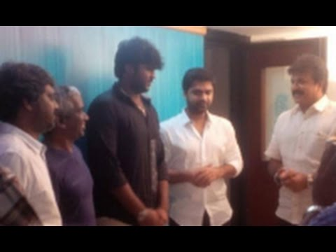 Simbu Croons For The Debut Movie Of Vijayakanth's Son | Sagaptham Movie Songs | Hot News video