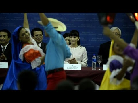 Japan's Princess Mako starts Central America visit