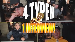 4 TYPEN 1 INTERVIEW! | Crewzember!