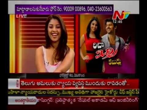 Chit Chat With Heroine Richa Gangopadhyay - 'mirchi Special Interview' - 02 video