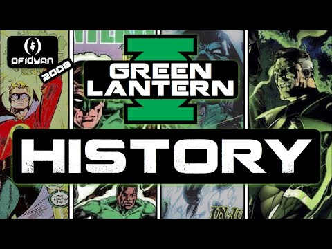 The Green Lantern History from the 1st GL Alan Scott all the way to Kyle Rayner and even leading somewhat into the future including the rebirth of Hal Jordan.