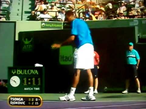 Novak Djokovic vs Jo- Wilfried Tsonga Miami 2009