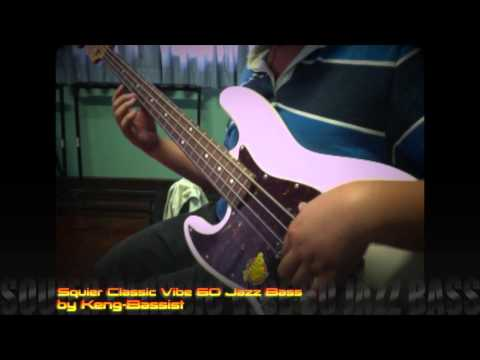 Squier Classic Vibe 60 Jazz Bass by Keng-Bassist