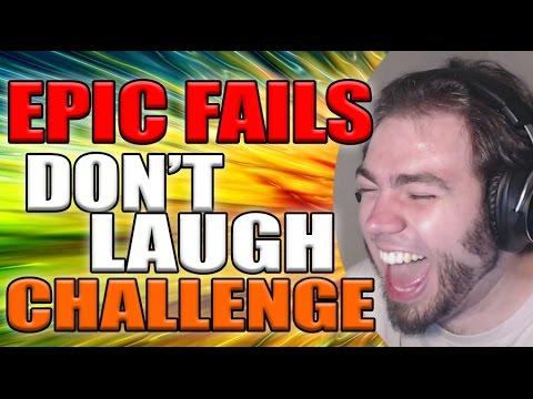 EPIC FAILS DONT LAUGH CHALLENGE | ZellenDust