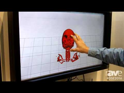 DSE 2016: RND Plus Demos Touch Screen Overlay With Protective Glass and Interactive Game