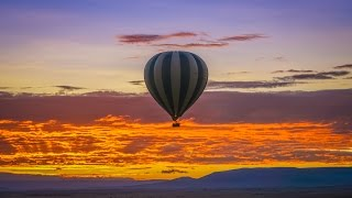 AMAZING HOT AIR BALLOON SAFARI