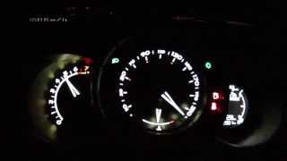 Citroën DS3 1,6 THP 155 2014 - acceleration 0-210 km/h, top speed test