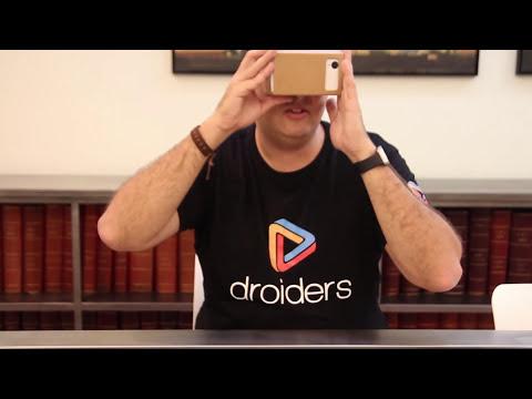 Descubre las gafas Google Cardboard VR