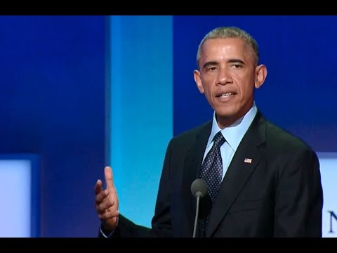 President Obama Delivers Remarks at the Clinton Global Initiative
