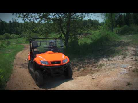 Kymco 500 UXV Side-x-Side Test Ride