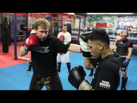 Muay Thai Kickboxing Techniques with Trainer David Rickles at JMTK MMA Image 1