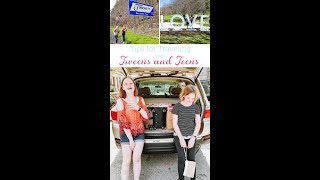 Successful and Fun Travel with Teens and Tweens