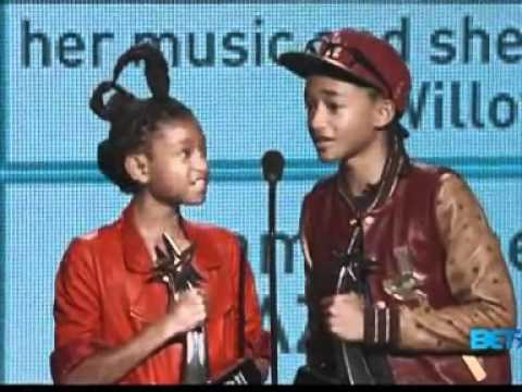 Jaden and Willow Smith win at BET Awards
