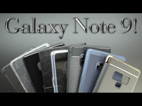 Best Samsung Galaxy Note 9 Cases And Tempered Glass Screen Protectors From Olixar!