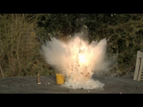 Day 2 - Exploding Bowl of Cereal - The Slow Mo Guys