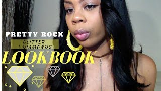 PRETTY ROCK GLITTER & DIAMONDS SUPER AFFORDABLE LOOKBOOK