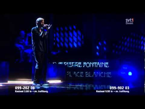Jay-Jay Johanson &#8211; Paris &#8211; Melodifestivalen 2013