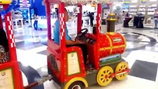 Naik Kereta Api 🚂 Train Ride For Kids Train at Mall Bumper Car BomBom Car