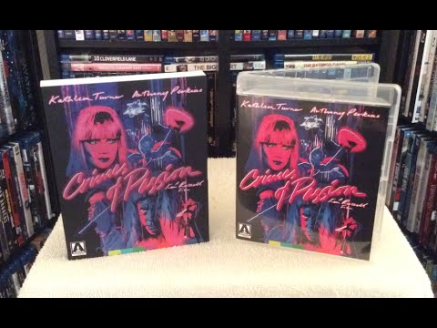 Crimes of Passion - Arrow Video Blu Ray Unboxing and Review