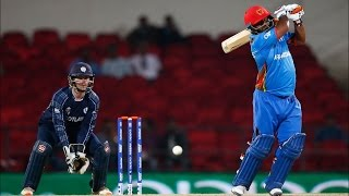 ICC World Twenty20 2016 | Afghanistan Beat Scotland By 14 Runs | Mohammad Shahzad Scores Fifty