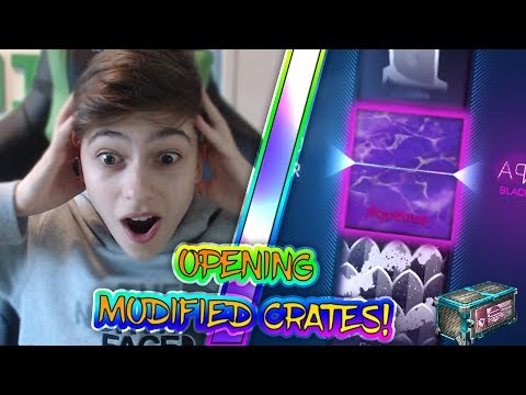 OPENING 'MODIFIED' CRATES | *CRATE OPENING* | Rocket League | NEW CRATE