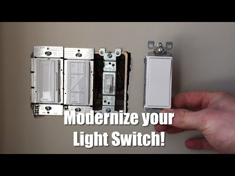 How to Replace and Update Your Light Switch