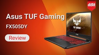 Asus TUF Gaming FX505DY Laptop Review