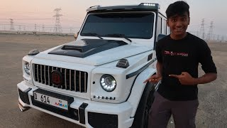 Driving My Dream Car In Dubai Desert ( g63 brabus)