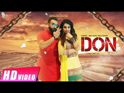 Don The Trailer | Mani Singh Feat Bhinda Aujla | Latest Punjabi Video 2016
